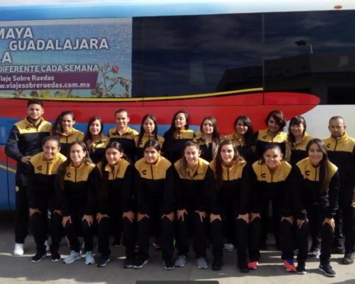 El equipo femenil de Dorados…